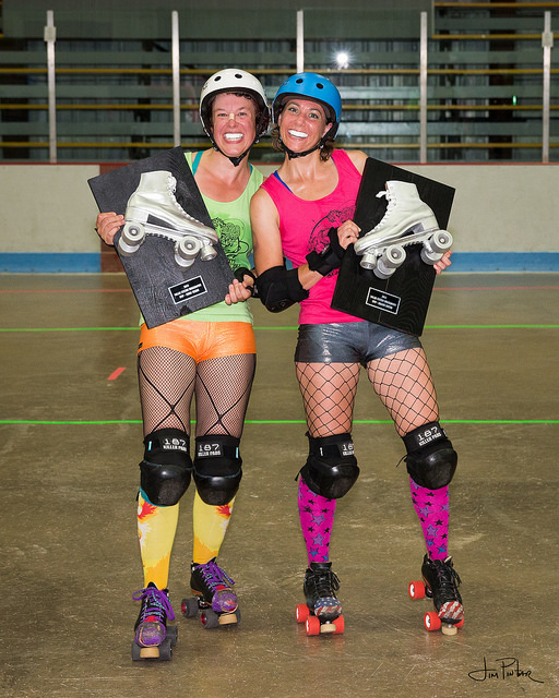 Solar System Smackdown MVPs - Phee Nix (left) and Glory Sparks (right)